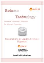Brochure ROTOCAV per il settore cosmetico