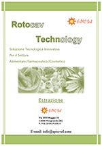 Brochure ROTOCAV per i processi di estrazione da prodotti naturali - Cavitatore idrodinamico