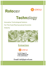 Brochure extraction - ROTOCAV - Hydrodynamic cavitator