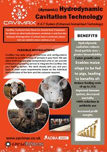 La cavitazione idrodinamica per la tecnologia di alimentazione animale
