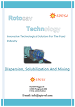 Brochure for mixing processes with hydrodynamic cavitator