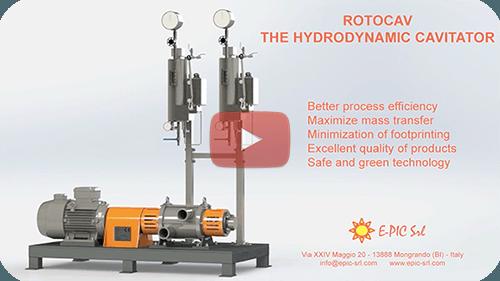 E-PIC S.r.l. - Hydrodynamic cavitators video