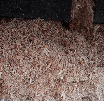Pigfeed before ROTOCAV hydrodynamic cavitator treatment