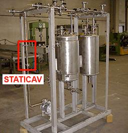 STATICAV cavitatore idrodinamico statico - installazione in linea
