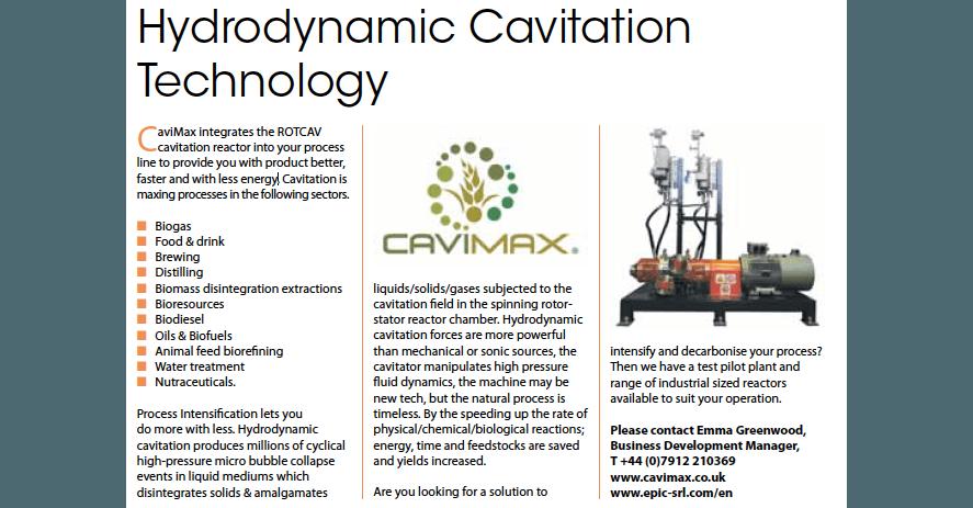 Cavimax e ROTOCAV su rivista Industrial process news